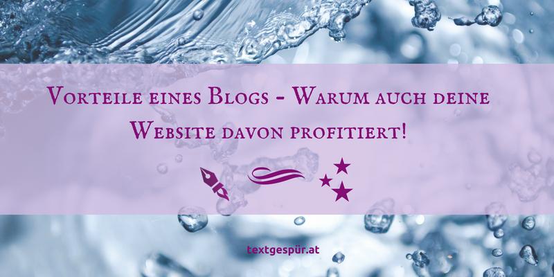 Vorteile eines Blogs