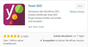 Blogartikel Yoast SEO