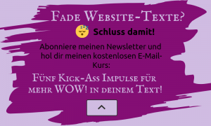 texte schreiben lernen newsletter