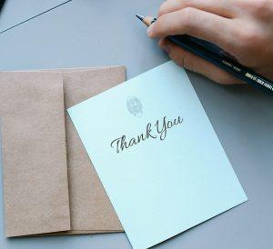 selbstständig arbeiten - dankbarkeit